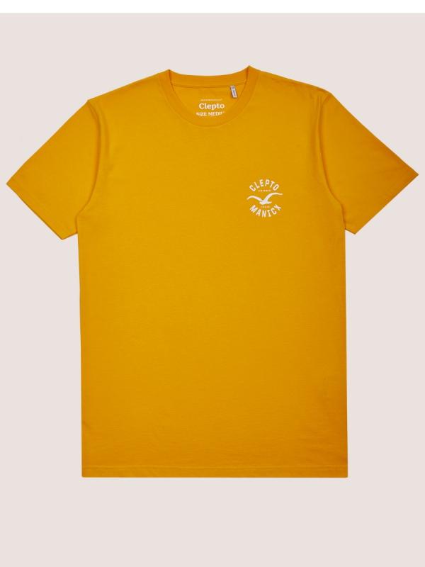 Cleptomanicx Games T-Shirt (golden rod)