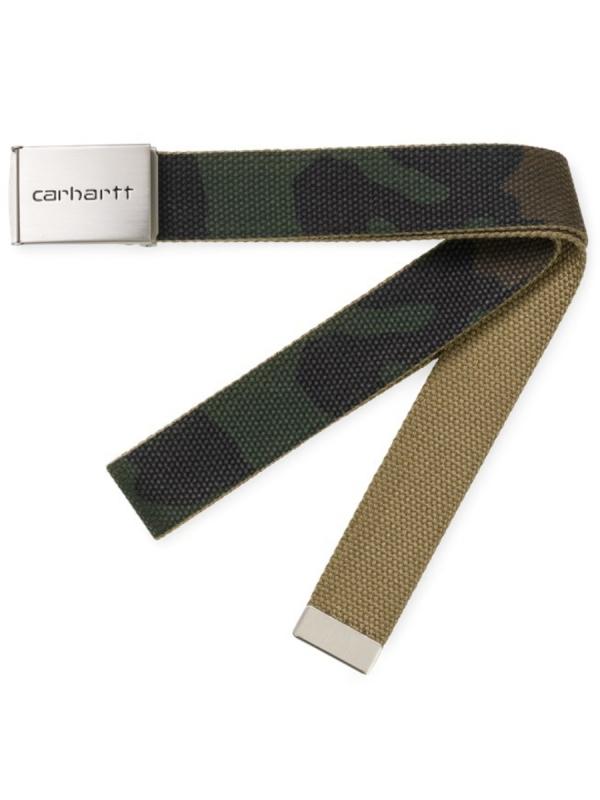 Carhartt WIP Clip Chrome Gürtel (camo laurel)