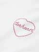 Carhartt WIP W Tilda Heart T-Shirt (white/etna red)