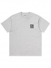 Carhartt WIP State Chromo T-Shirt (ash heather)