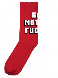 Dedicated Bad Mother Socken (red)