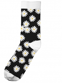 Dedicated Flowers Socken (black)