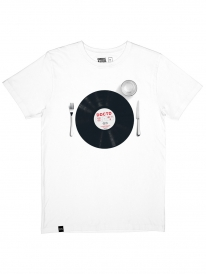Dedicated Record Meal T-Shirt (white)