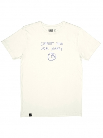 Dedicated Local Planet T-Shirt (off-white)