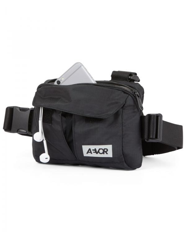 Aevor Frontbag (ripstop black)