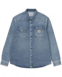 Carhartt WIP Salinac Shirt Jac (blue worn bleached)
