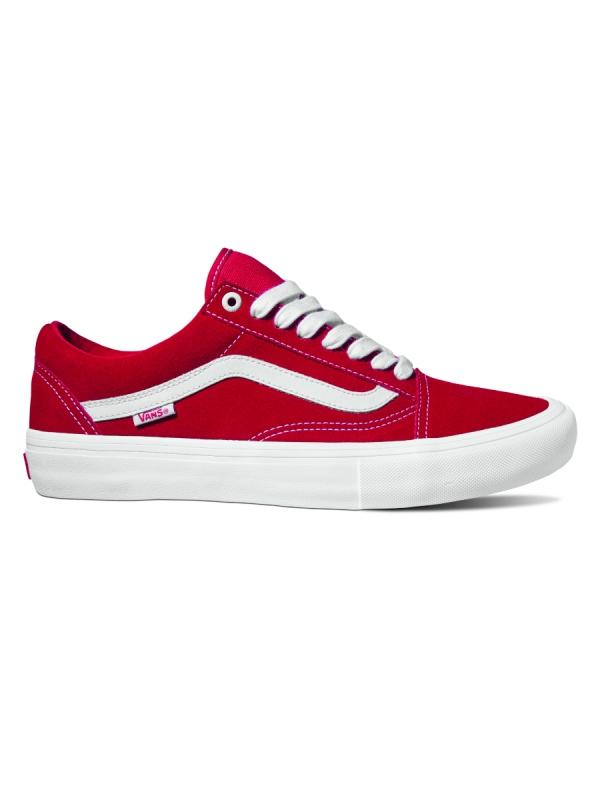Vans Old Skool Pro Suede (red/white)