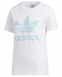 Adidas Trefoil T-Shirt (white/clear sky)