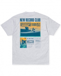 Carhartt WIP Record Club T-Shirt (ash heather)