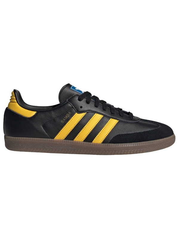 Adidas Samba OG (core black/eqt yellow/bluebird)