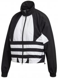 Adidas Large Logo Track Top Jacke (black/white)