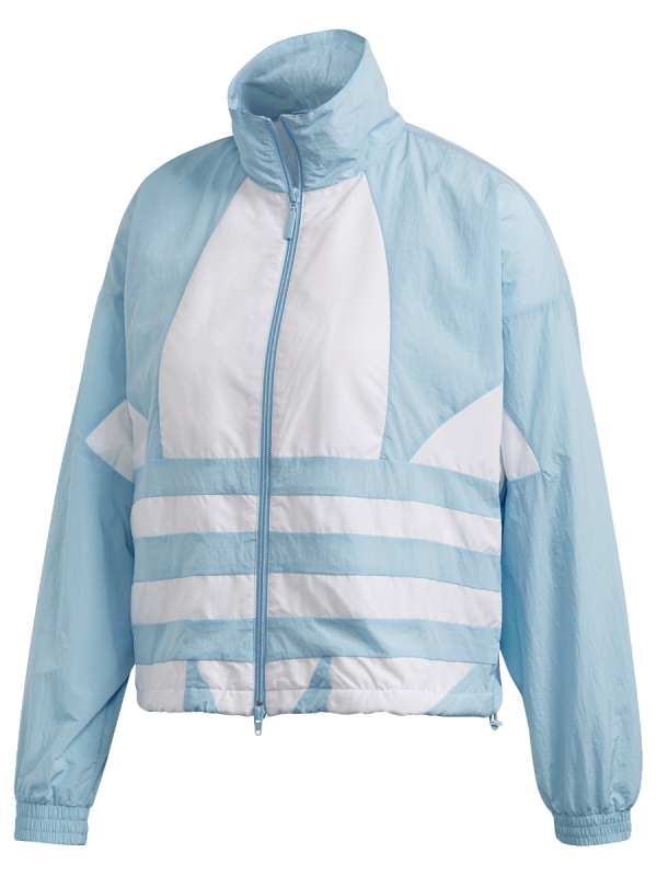 Adidas Large Logo Track Top Jacke (clearsky/white)