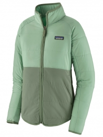 Patagonia W Pack In Jacket (gypsum green)