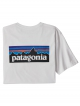 Patagonia P6 Logo Responsibili T-Shirt (white)
