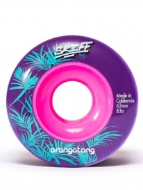 Orangatang Skiff Wheels 62mm 83a (purple) 4er Satz