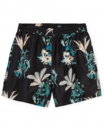 Carhartt WIP Drift Swim Trunks (hawaiian floral print/black)