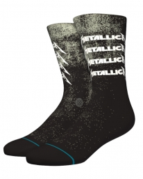 Stance Metallica Stack Socken (black)