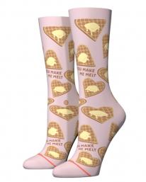 Stance You Make Me Melt Crew Socken (lilac ice)