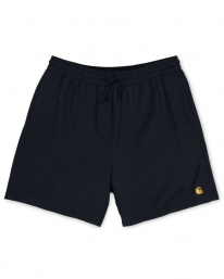 Carhartt WIP Chase Swim Trunks (black/gold)
