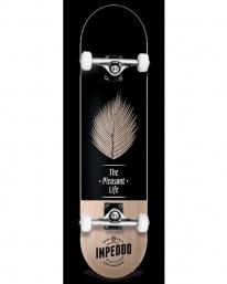Inpeddo Pleasant Life Premium Komplett Skateboard 8.25 Inch (black)