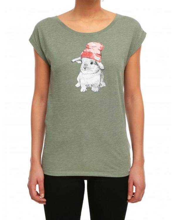 Iriedaily It Hasi T-Shirt (light olive melange)