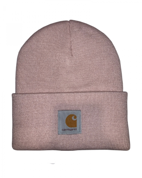 Carhartt WIP Acrylic Watch Hat Beanie (frosted pink)