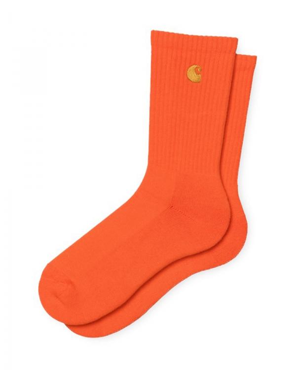 Carhartt WIP Chase Socken (safety orange/gold)
