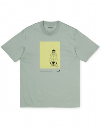 Carhartt WIP 1999 Ad Evan Hecox T-Shirt (frosted green)