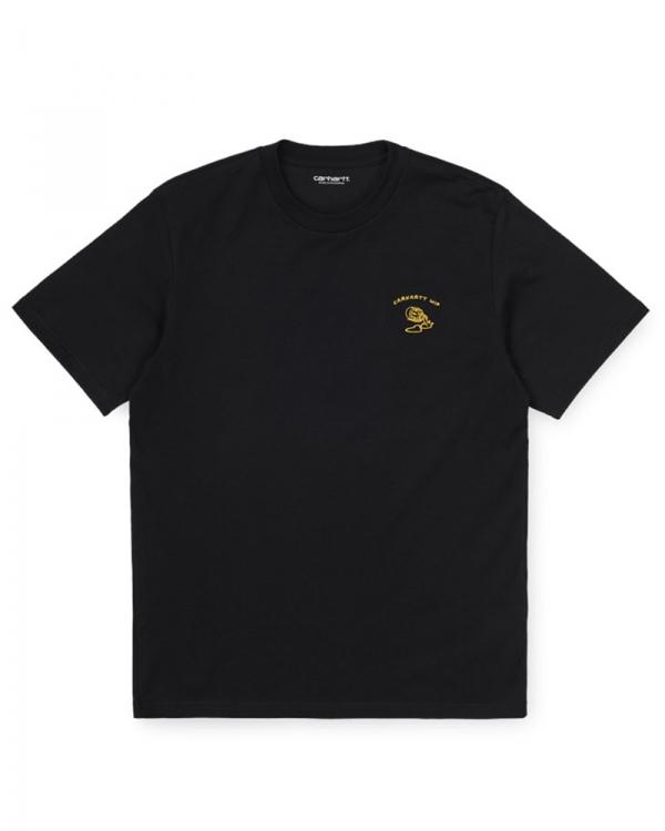 Cahartt WIP Reverse Midas T-Shirt (black/colza)