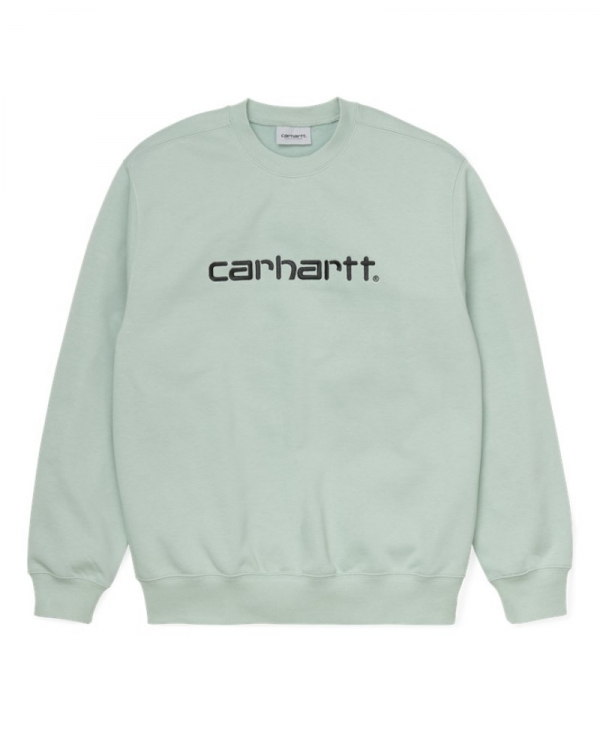 Carhartt WIP Sweat Sweater (frosted green)