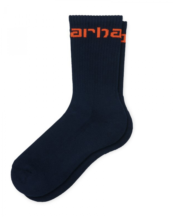 Carhartt WIP Carhartt Socken (dark navy/safety orange)