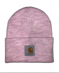 Carhartt WIP Acrylic Watch Hat Beanie (frosted pink heather)