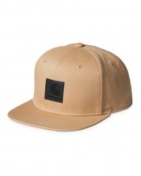 Carhartt WIP Logo Cap (dusty hamilton brown)