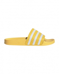 Adidas Adilette W Slipper (yellow/white/yellow)