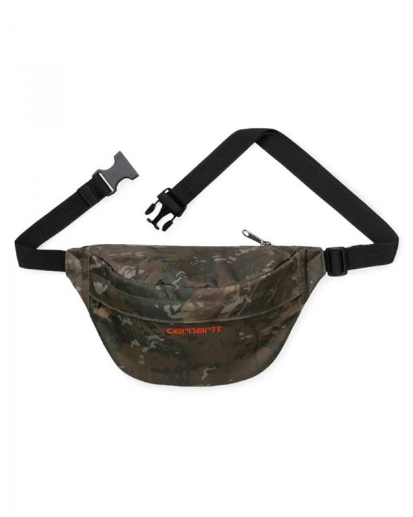 Carhartt WIP Payton Hip Bag (camo combi/safety orange)