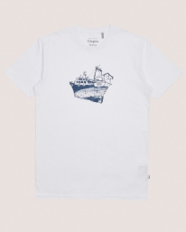 Cleptomanicx Tugger T-Shirt (white)