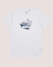 Cleptomanicx Tugger T-Shirt (white)