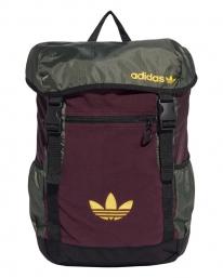 Adidas Toploader Rucksack (red/green)