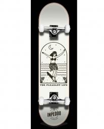 Inpeddo Lady Standard Komplett Skateboard 8.0 Inch (beige)