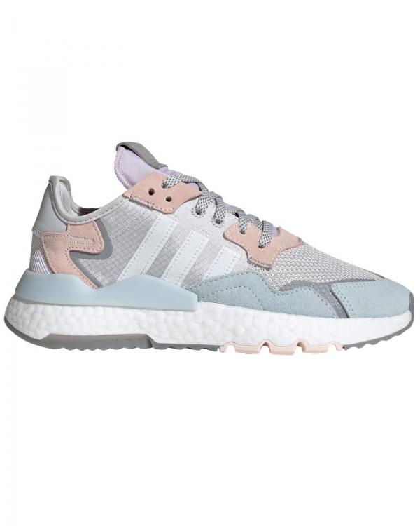 Adidas Nite Jogger W (grey one/white/pink tint)