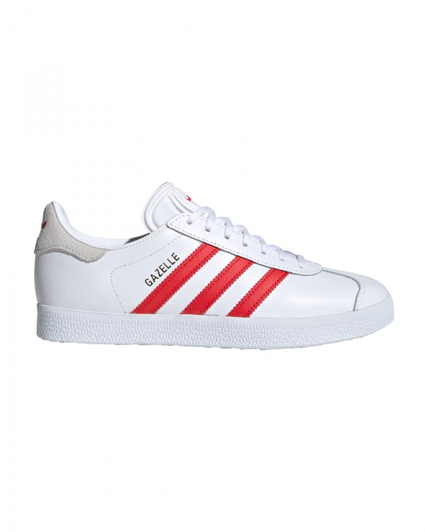 Adidas Gazelle W (cloud white/lush red/crystal white)