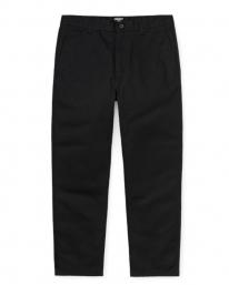 Carhartt WIP Menson Pant (black rinsed)