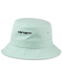 Carhartt WIP Script Bucket Hat (frosted green/black)