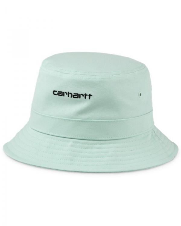 Carhartt WIP Script Bucket Hat (frosted green/black)