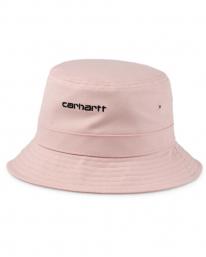 Carhartt WIP Script Bucket Hat (frosted pink/black)