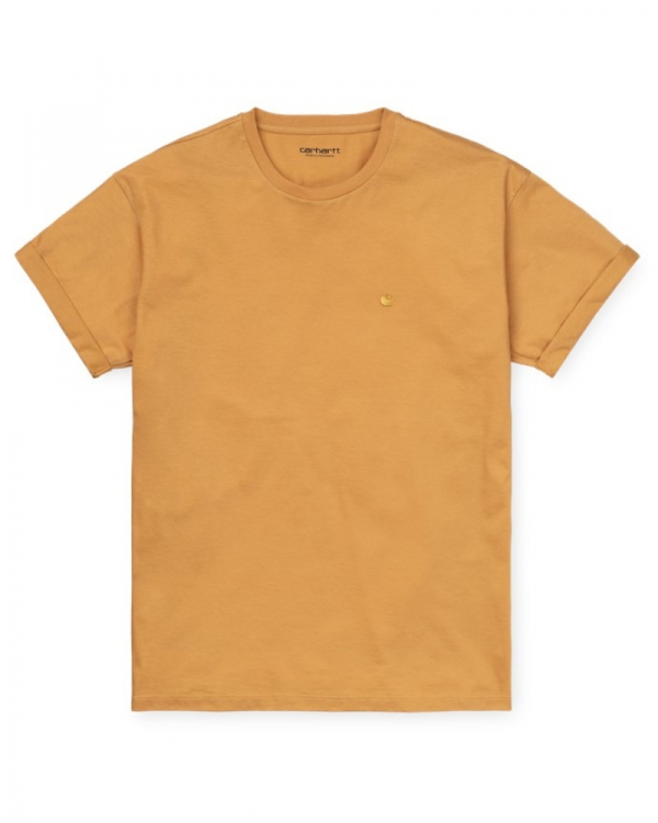 Carhartt WIP W Chase T-Shirt (winter sun/gold)