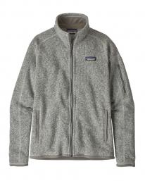Patagonia W Better Sweater Fleece Jacket (birch white)