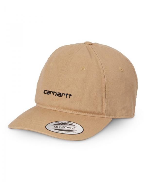 Carhartt WIP Canvas Coach Cap (dusty hamilton brown/black)