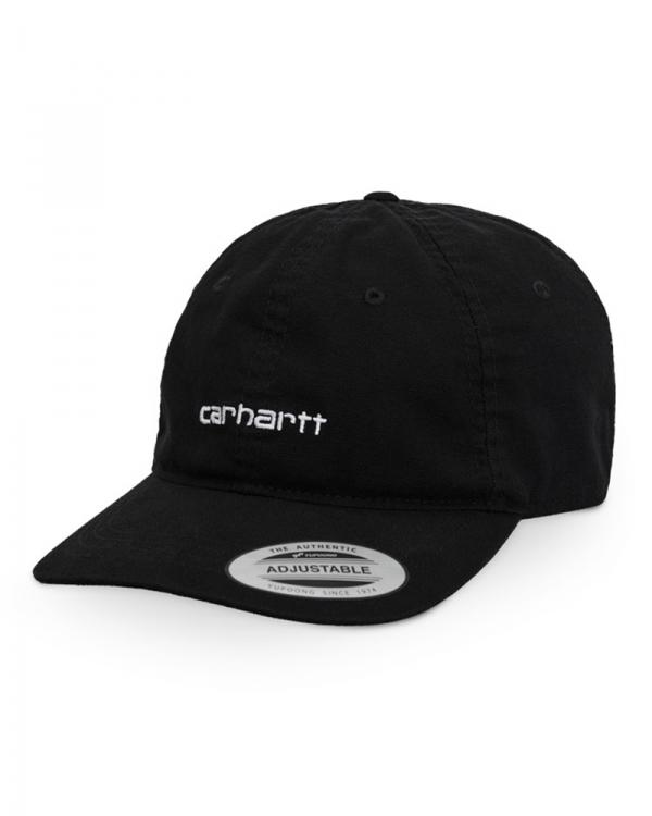 Carhartt WIP Canvas Coach Cap (black/white)
