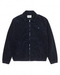 Carhartt WIP Madison Jacket (dark navy/dark navy rinsed)